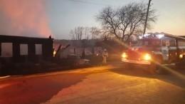 Фрагменты тела пятого погибшего ребенка обнаружены наместе пожара вСвердловской области