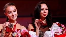 Щербакова иТуктамышева заняли два первых места вкороткой программе наЧМ