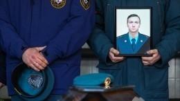Как прощались спогибшим напожаре в«Невской мануфактуре» спасателем?