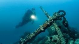 Тайны Баренцева моря: наглубине водолазы нашли разбившийся самолет исудно