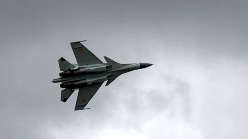 Подробности крушения истребителя Су-30 вКазахстане