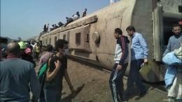 ВЕгипте поезд сошел срельсов, есть погибшие ираненые
