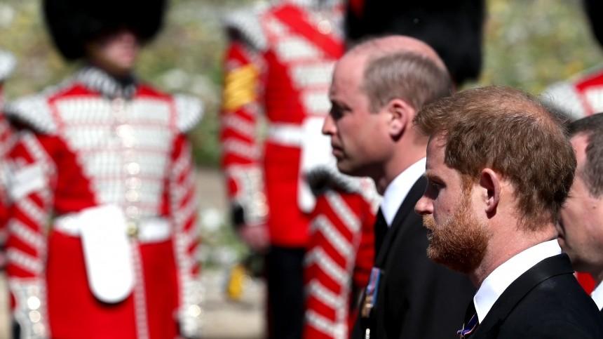 «Онбы этого хотел»: очем Гарри иУильям говорили после похорон принца Филиппа?