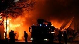 Почти разрушенный дом ипламя: видео сместа хлопка газа под Нижним Новгородом