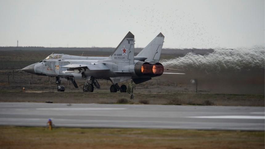Истребитель МиГ-31 совершил аварийную посадку вПерми