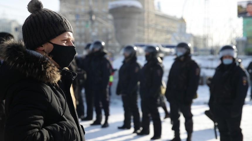 Власти Москвы предупредили граждан обответственности завыход нанезаконные акции