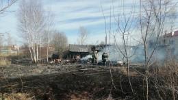 Более 10 домов сгорели под Нижним Новгородом после хлопка газа вМаргуше