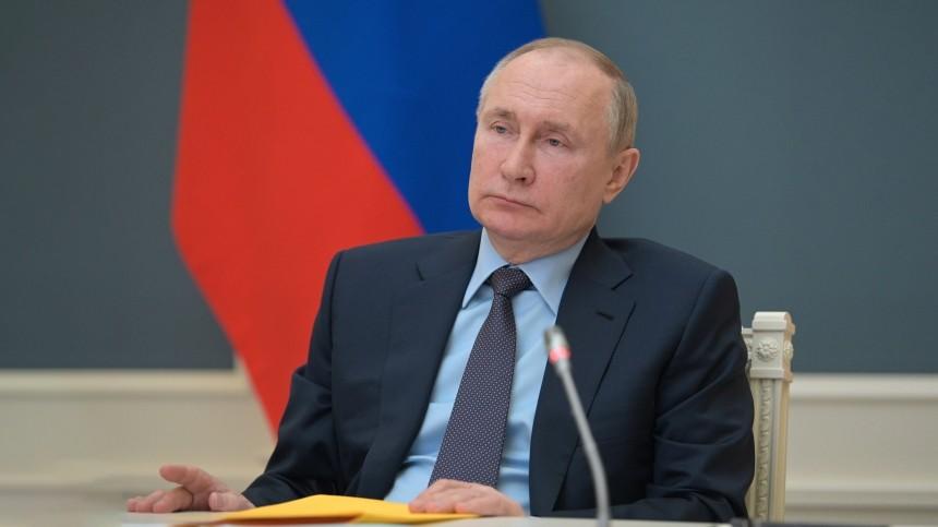 Путину доложили опредложении Зеленского повстрече вДонбассе