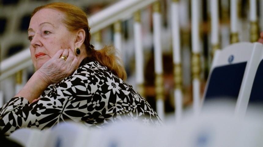 Скончалась заслуженная артистка РСФСР Ирина Моисеева