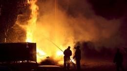 Природный пожар уничтожил деревню вАрхангельской области