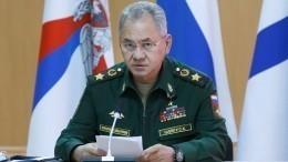Быть вбоевой готовности: Шойгу дал указания поконтролю заучениями НАТО