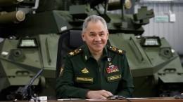 Цели достигнуты: Шойгу заявил озавершении проверок войск наюге изападе РФ