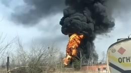 ВПриморском крае взорвался бензовоз— огненное видео