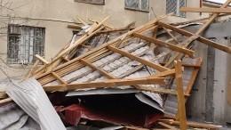 Мощный ураган нанес Пензе ущерба на16 миллионов рублей