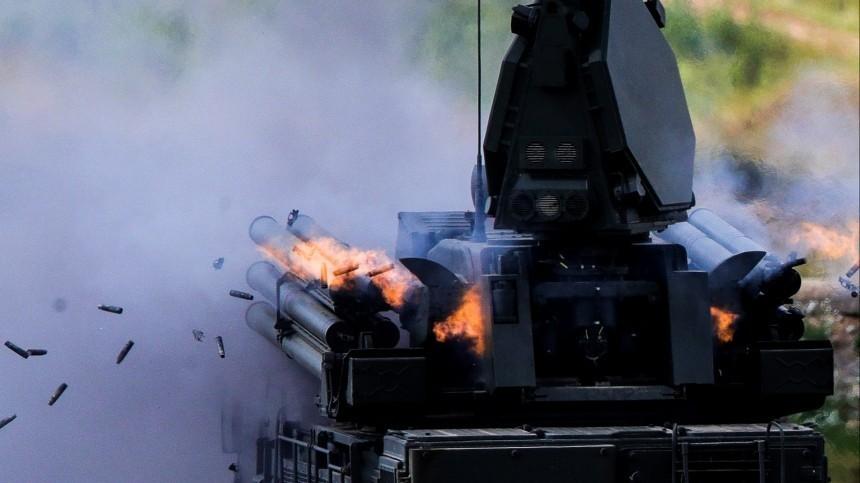 ВТурции показали навидео «уничтожение» российского «Панциря»