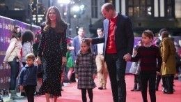Принц Уильям иКейт Миддлтон показали фото сына принца Луи вдень его рождения