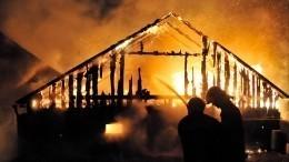 Четыре человека сгорели при страшном пожаре вБашкирии