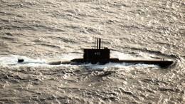 Пропавшую подлодку ВМС Индонезии нашли наглубине 850 метров