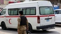 Момент взрыва вковидном госпитале Багдада попал навидео