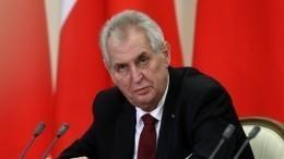 «Изряда вон выходящие действия»: Песков рассказал ореакции Кремля наречь Земана