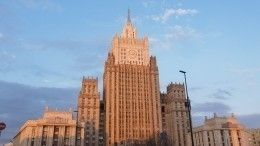 МИД РФобъявил овысылке сотрудника посольства Италии вМоскве