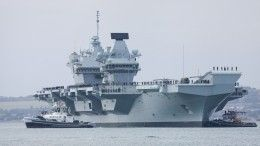 ВБритании высмеяли планы Лондона напугать РФ«дырявым» авианосцем