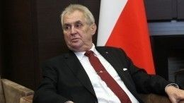 Кульминация: сенат Чехии намерен обвинить президента Земана вгосизмене