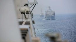 США открыли предупредительный огонь покораблям Ирана вПерсидском заливе