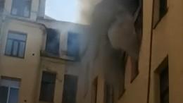 При пожаре вПетербурге могла пострадать квартира английского журналиста