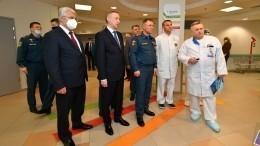 Глава МЧС РФнаградил пожарных, пострадавших при тушении «Невской мануфактуры»