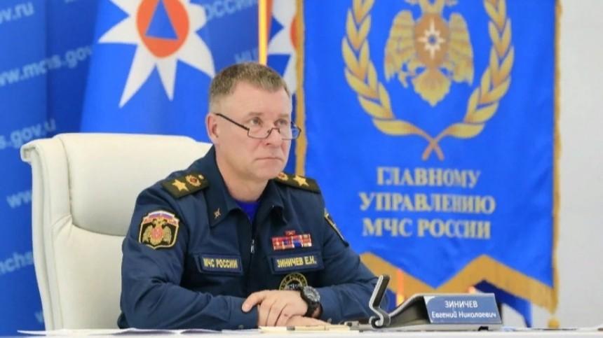 Глава МЧС РФЕвгений Зиничев поздравил коллег сДнем пожарной охраны