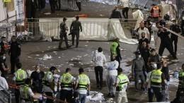 Почти 40 человек погибли при обрушении трибун нарелигиозном празднике вИзраиле