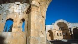 Древние храмы Сирии восстановят пороссийским 3D-моделям