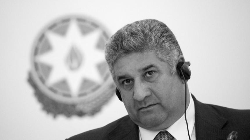 Умер министр молодежи испорта Азербайджана Азад Рагимов