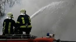 Восемь человек, включая двоих детей, погибли при пожаре под Пермью