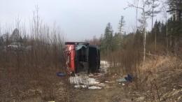 Задержан водитель улетевшего вкювет пассажирского автобуса под Хабаровском