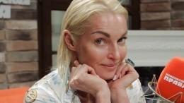 Волочкова впервые «засветила» лицо возлюбленного— видео