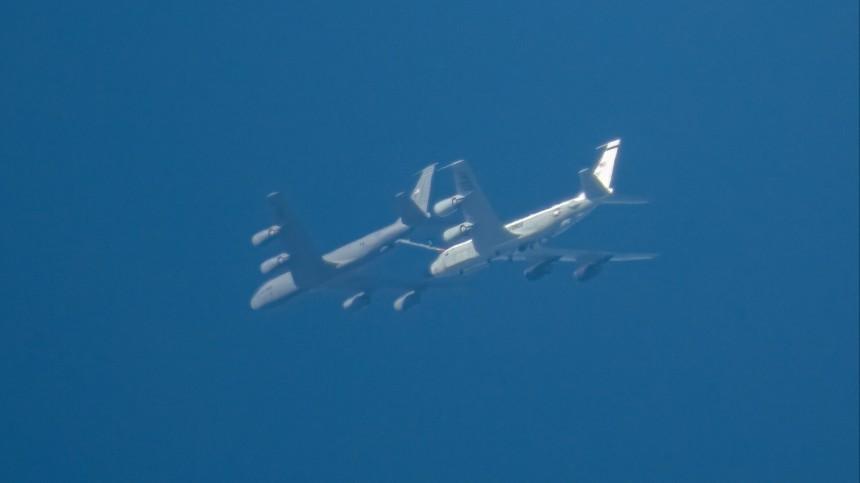 Самолет ВВС США провел разведку вблизи Камчатки