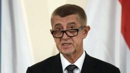 Премьер Чехии вызвал главу Минюста после ееслов овзрывах