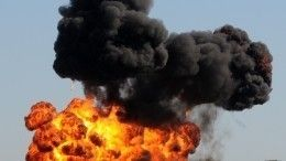 Автоцистерна сгорючим взорвалась наТюменском тракте— огненное видео