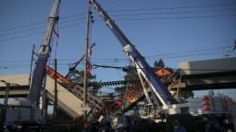 Число жертв обрушения метромоста вМехико достигло 27 человек