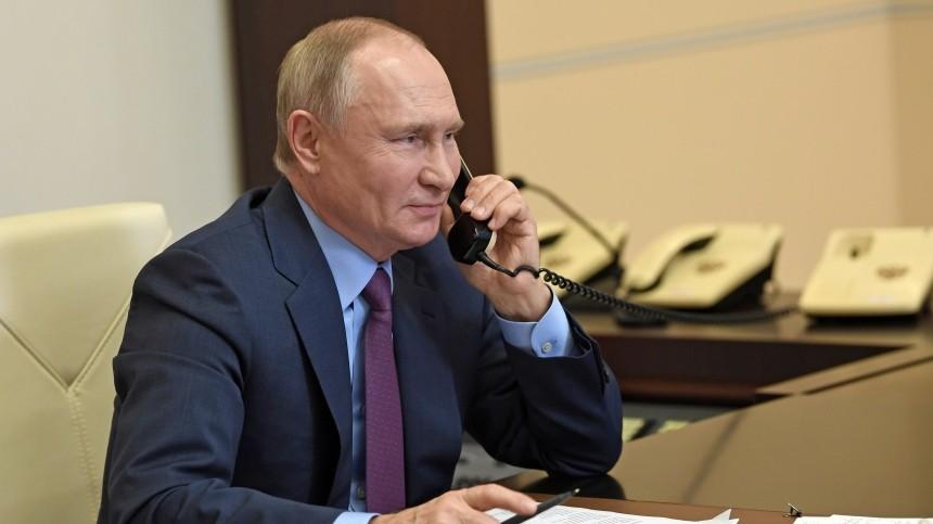 Путин обсудил сЭрдоганом производство «Спутника V» вТурции ипоставки вакцины
