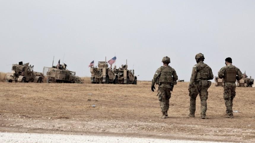 Посольство РФвВашингтоне указало нанезаконность присутствия США вСирии