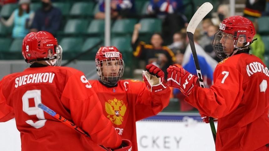 Сборная России похоккею обыграла Финляндию наЮЧМ исразится зазолото сКанадой