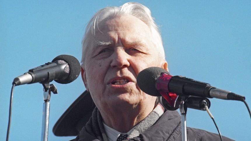 «Борис, тынеправ»: чем запомнится экс-секретарь ЦККПСС Егор Лигачев