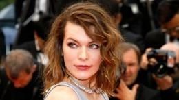 «Кому нужны профи?»— Милла Йовович сама обстригла себе волосы идовольна