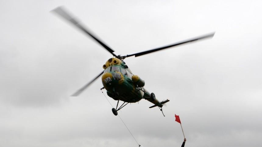 Вертолет Ми-2 пропал наКамчатке