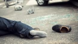 Собиравшего для ребенка деньги волонтера сбила машина вДагестане— шок-видео