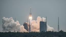 Откуда икуда? Неуправляемая ступень китайской ракеты пронеслась над Испанией