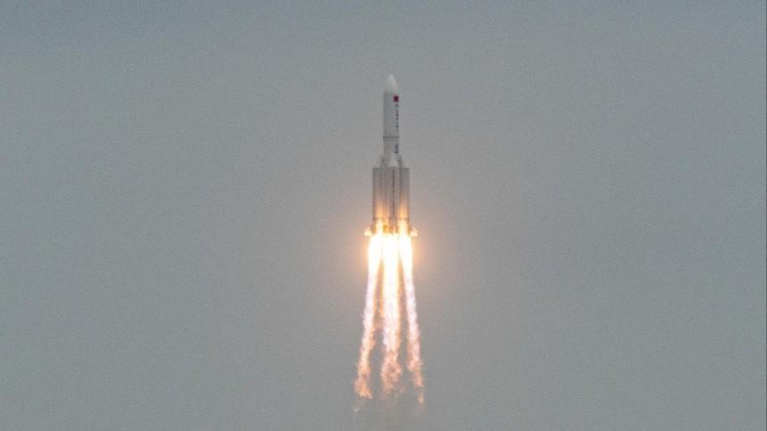 Обломки китайской ракеты упали вИндийский океан